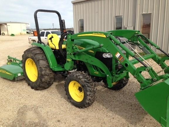 2015 John Deere 4105 Tractor For Sale