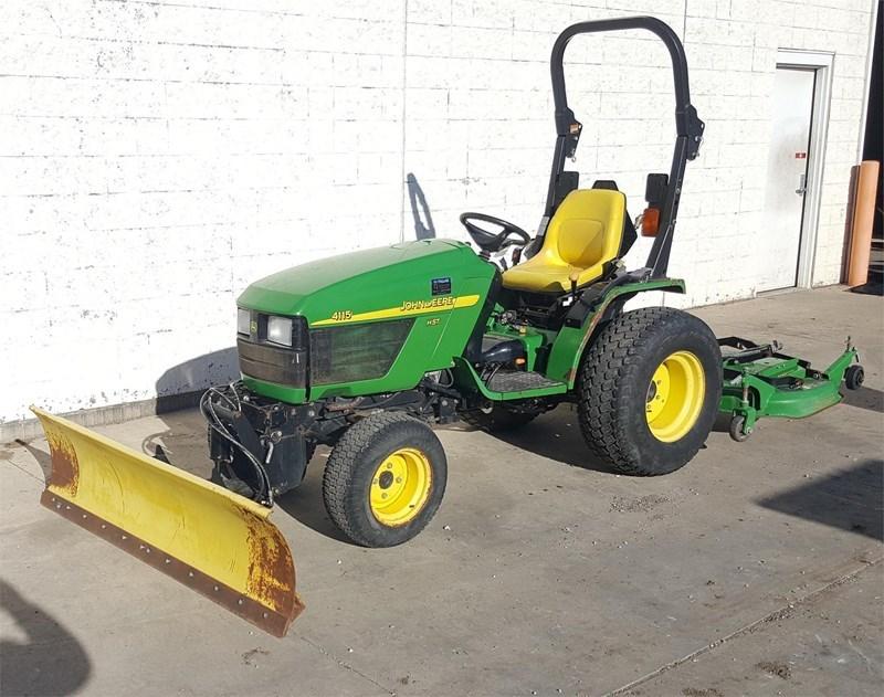 2004 John Deere 4115 Tractor For Sale