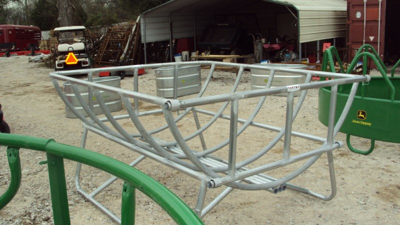 Tarter New Galvanized Cradle round bale feeder Misc. Ag For Sale