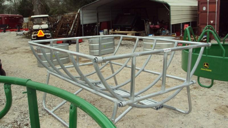 Tarter New Galvanized Cradle round bale feeder Misc. Ag For Sale