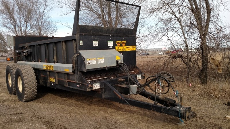 2012 Meyers VB750 Manure Spreader-Liquid/Pull Type For Sale