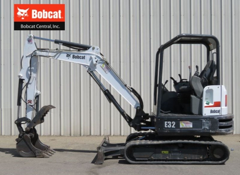2014 Bobcat E32 Excavator-Mini For Sale