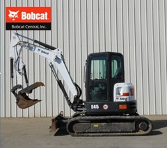 Excavator-Mini For Sale:  2014 Bobcat E45