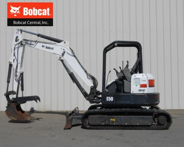 2013 Bobcat E50 Excavator-Mini For Sale