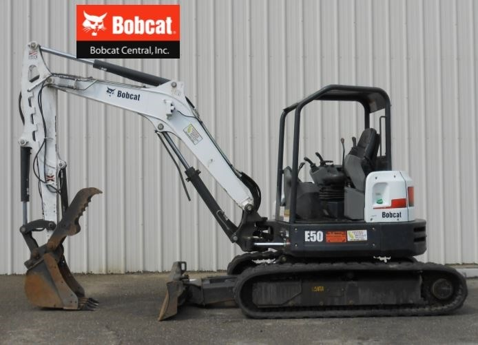 2015 Bobcat E50 Excavator-Mini For Sale