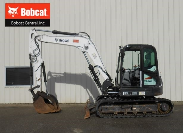 2015 Bobcat E85 Excavator-Mini For Sale