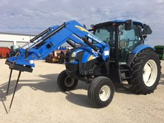 Tractor For Sale:  2007 New Holland T6020 , 110 HP