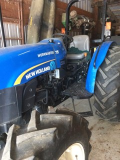 Tractor For Sale 2012 New Holland Workmaster 75 , 75 HP