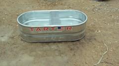Misc. Ag For Sale:  Tarter 2x1x4 galvanized metal stock tank