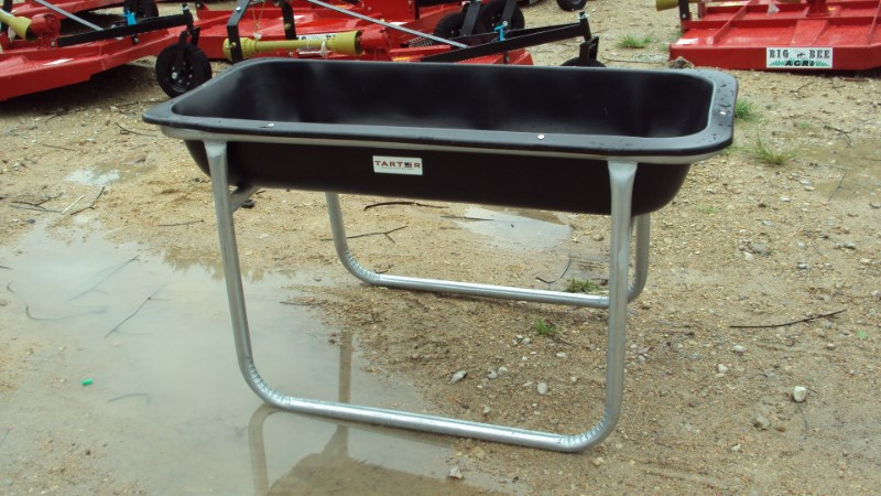 Tarter 5' Poly / galvanized horse bunk feeder Misc. Ag For Sale