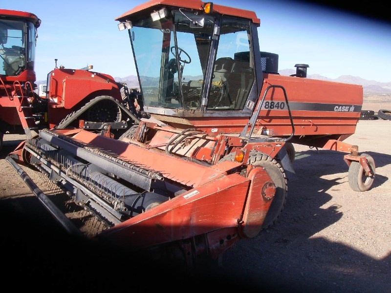 1997 Case IH 8840 Windrower-Self Propelled For Sale