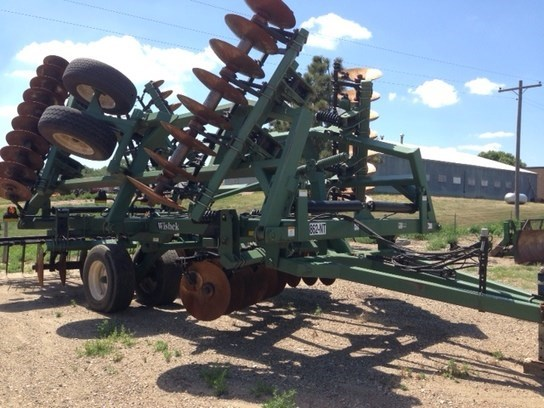 2009 Wishek 862-NT Disk Harrow For Sale