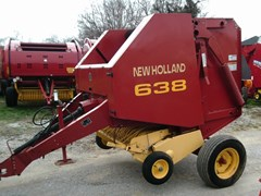 Baler-Round For Sale 2002 New Holland 638