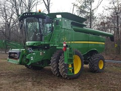 Combine For Sale:  2014 John Deere S670