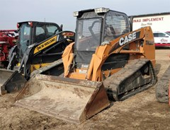 Skid Steer-Track For Sale 2011 Case TR320 , 84 HP