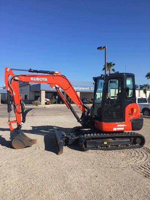 Kubota KX040-4R3T Excavator-Track