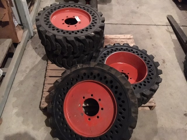 Bobcat Twin Flex Wheels and Tires For Sale