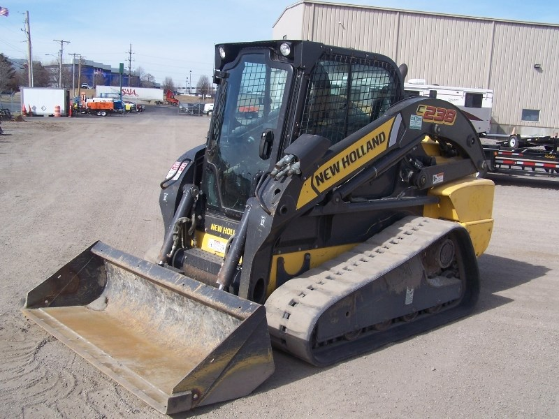 2011 New Holland C238 Skid Steer-Track For Sale
