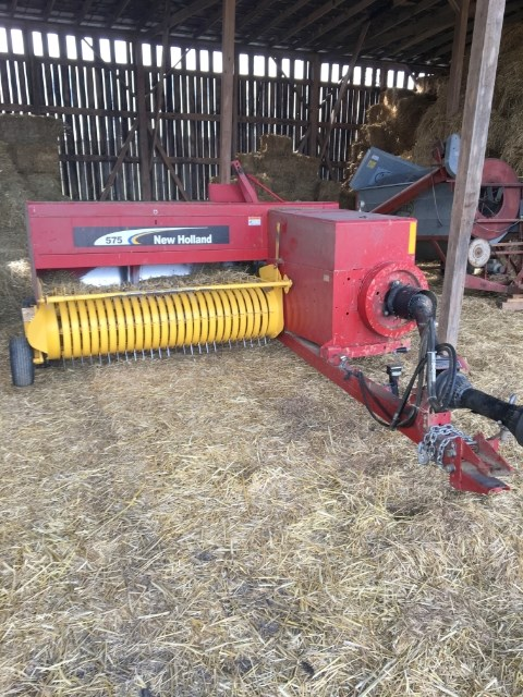 2008 New Holland 575 Baler-Square For Sale