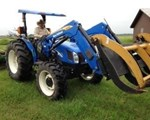 Tractor For Sale: 2005 New Holland TN70A, 70 HP