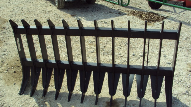 """Other 66"""" Heavy duty root / brush / rock rake for skid s Skid Steer Attachment For Sale"""