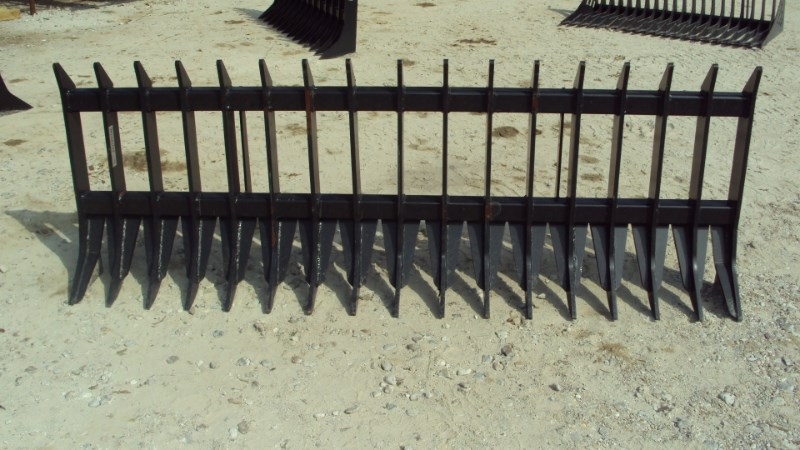 "Other 96"" Heavy duty root / brush / rock rake for skid s Skid Steer Attachment For Sale"