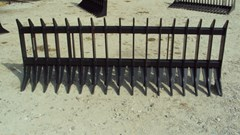"Skid Steer Attachment For Sale:  Other 96"" Heavy duty root / brush / rock rake for skid s"