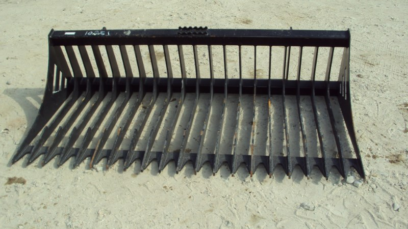 """Other 72"""" heavy duty quick attach rock bucket for skid s Skid Steer Attachment For Sale"""
