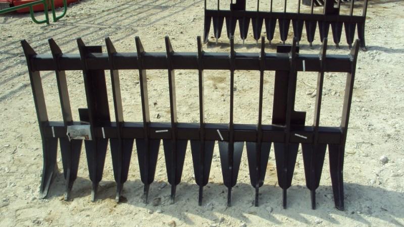 """Other 66"""" heavy duty root / brush / rock rake for John D Misc. Ag For Sale"""