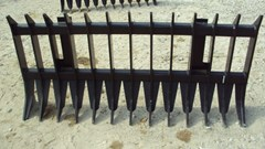 "Skid Steer Attachment For Sale:  Other 72"" heavy duty root / brush / rock rake for John D"
