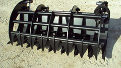 """Skid Steer Attachment For Sale:  Other 72"""" Brush / Root rake grapple for skid steer & tra"""