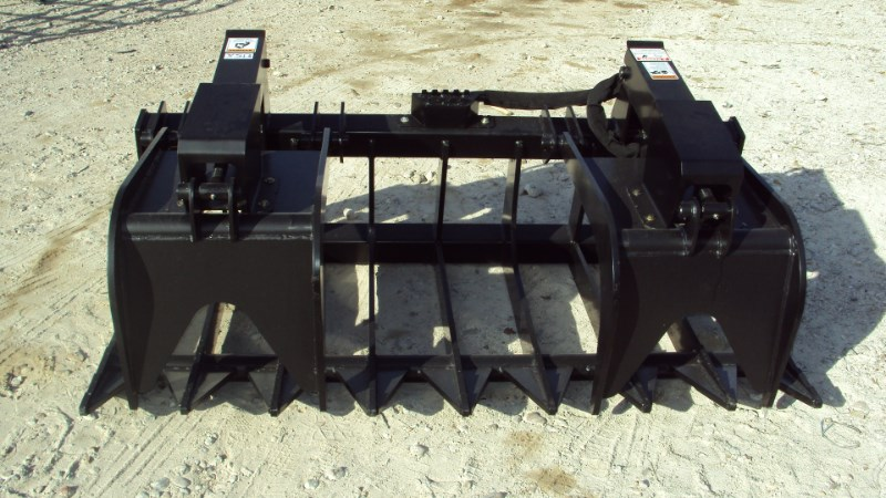 "Other 72"" EXTREME DUTY brush & root grapple Skid Steer Attachment For Sale"