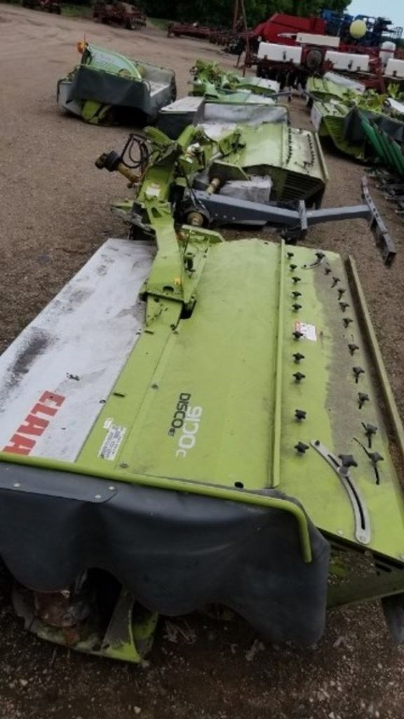 2014 Claas 9100C Mower Conditioner For Sale