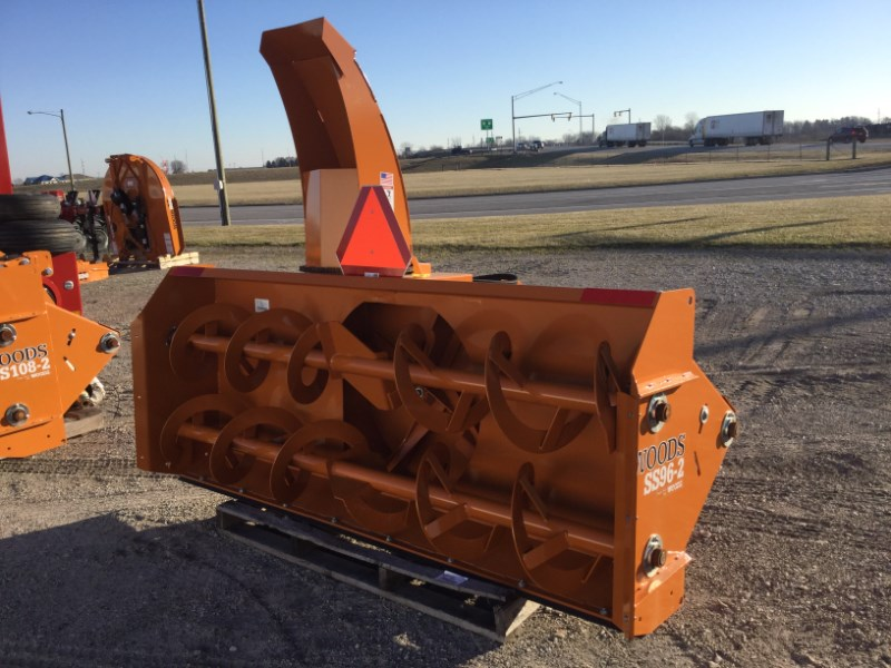 2015 Woods SS96-2 Snow Blower For Sale