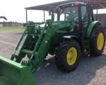 Tractor For Sale: 2014 John Deere 6115M, 120 HP