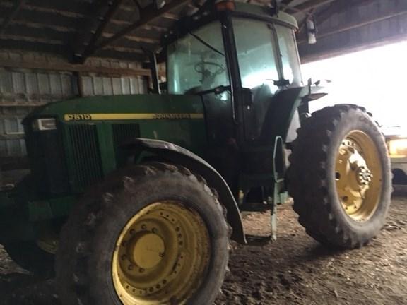 2002 John Deere 7610 Tractor For Sale
