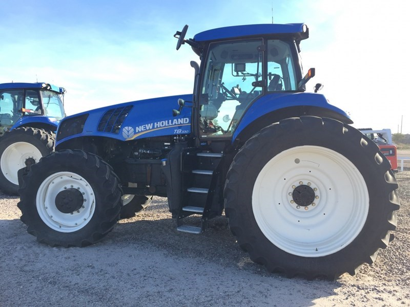 2011 New Holland T8.330 4WD Tractor For Sale