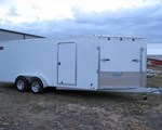 Equipment Trailer For Sale: 2015 Forest River 2015 Forest River LTFES718TA2 AMERI-PRO White