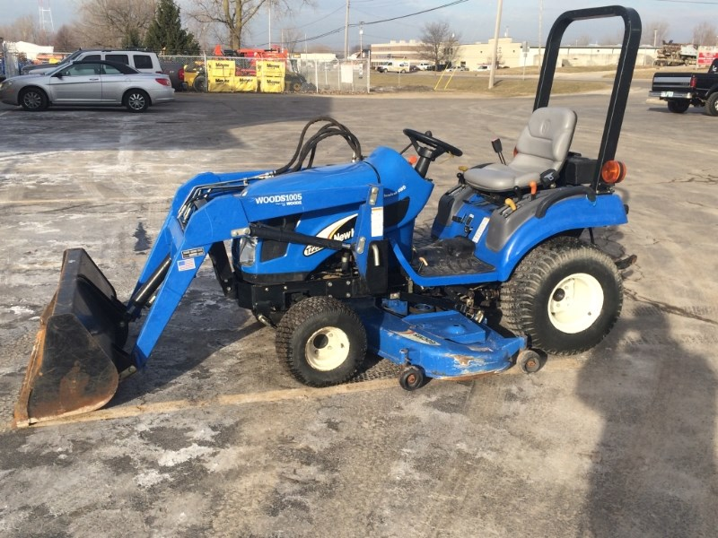 2005 New Holland TZ25B4 Tractor For Sale