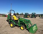 Tractor For Sale: 2015 John Deere 1025R, 25 HP
