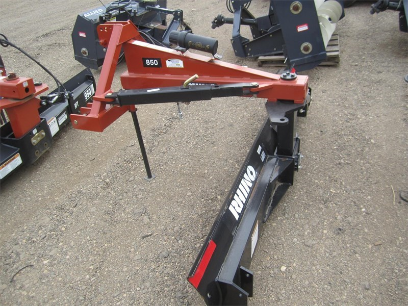 2017 Rhino 850 Box Blade Scraper For Sale