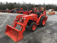Loader Backhoe For Sale:   Kubota L3400HST