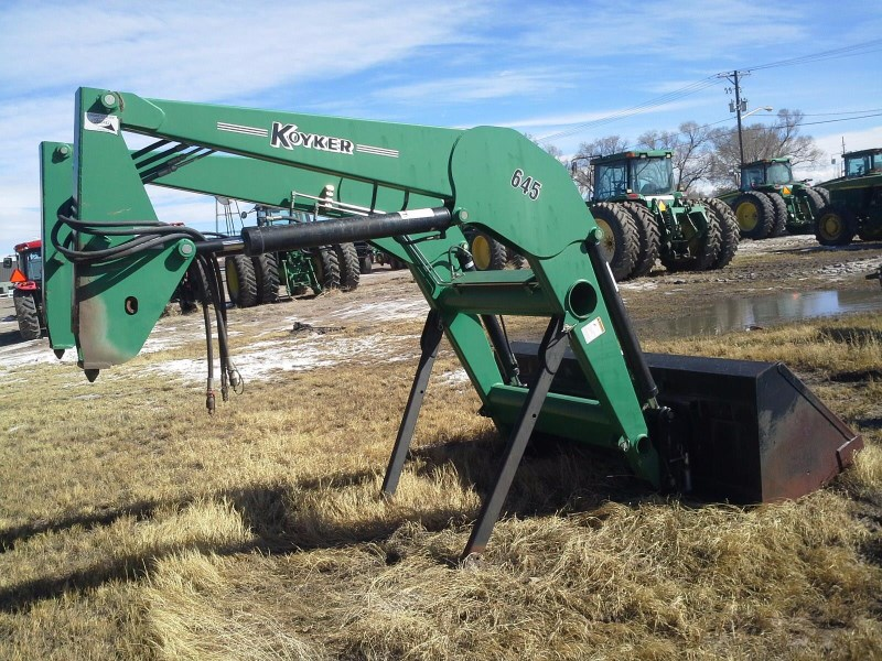 Koyker 645 Front End Loader Attachment For Sale