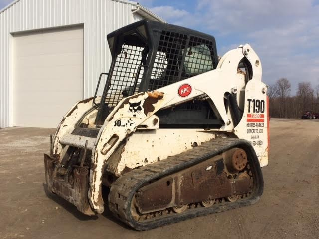 2005 Bobcat T190 Skid Steer For Sale