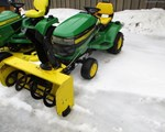 Riding Mower For Sale: 2008 John Deere X360, 22 HP