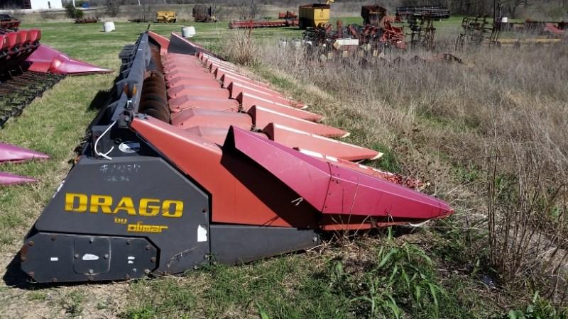 2007 Drago LT12R Header-Corn For Sale