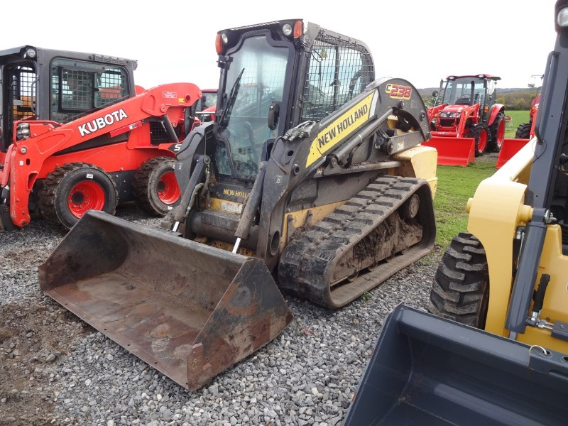 2012 New Holland C238 Skid Steer-Track For Sale