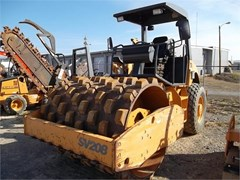 Compactor-Soil For Sale 2007 Case SV208 , 99 HP