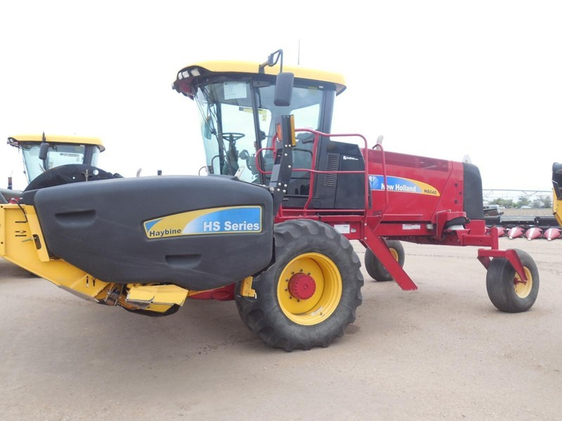 2011 New Holland H8040 Windrower-Self Propelled For Sale