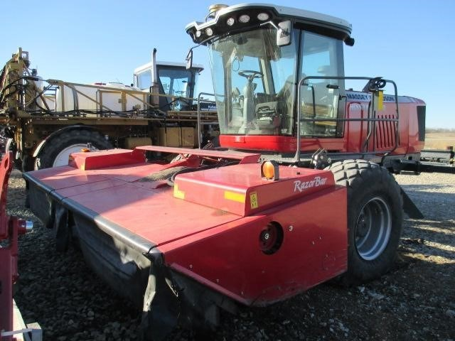 2013 Massey Ferguson WR9770 Windrower-Self Propelled For Sale